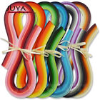 Quilling Paper with 36 Colors540mm Length4 kinds of width720 strips total