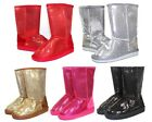 ALING 7K Brand New Blink Cute Kids Toddlers Youth Mid Calf Flats Winter Boots