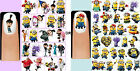 60 x Despicable Me OR Minions Nail Art Decals + Free Gift Disney Unicorn Purple