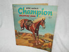 Vintage 1957 Gene Autry's Champion Coloring Book, Horses, Whitman