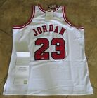Michael Jordan Signed Autographed Bulls UDA Mitchell & Ness Jersey (1997-1998)
