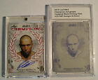 2010 Leaf Champions UFC GEORGES ST PIERRE Auto # 50 + PRINTING PLATE 1 1 topps