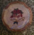 NEW BOXED FITZ FLOYD HOLIDAY BELLS CANAPE CHINA PLATE WALL HANGING