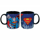 25559 Superman 14 oz Ceramic Mug Super Heroes DC Comics Movie Cartoon