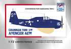 1:72 HIGH PLANES Grumman TBM-3W Avenger AEW Conversion & Decals