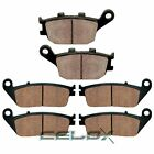 Front Rear Brake Pads For Honda VTX1300R 2005 2006 2007 2008 2009