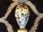 Satsuma Vase with Flowers and  handles Look VN Piece!!