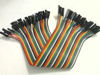 40pcs Dupont wire jumper cable 20cm 2.54MM Female 1P For Arduino Raspberry pi