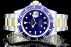 Men's Rolex Submariner Steel & 18K Yellow Gold Watch 16613