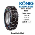 Snow chain Chains 225 Van Bus Commercial Land Rover Iveco Konig T2 New