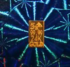 24k Pure Au Gold Bullion 5Grain Bar  Invest NOW! 24k 99.99 Fine LOOK  ..
