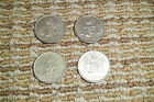 1950-1953 Mexican 25 Cents Silver Mexico Plata 4 Coin Complete Key Set NR2