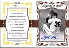 2011 LEAF LEGENDS OF SPORT GOLD GAYLORD PERRY AUTOGRAPH #BA31, AUTO # 36, GEM