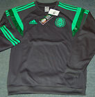 Adidas Federacion Mexicana de Futbol Sweatshirt, Dark Shale, Various Youth Sizes