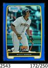 1-2012 BOWMAN CHROME BLUE REFRACTOR WILLY GARCIA PIRATES 250 QTY