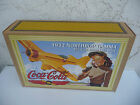 Coca-Cola 1932 Northrop Gamma DieCast Metal airplane Coin Bank 8-up