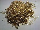 1.2 GRAMS GOLD LEAF FLAKE! Investment lot, resell, GOLD IS $1300+
