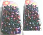 14 pack mixed hair barrettes colorful rubber bands ponytail holders