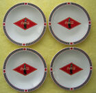 Coca Cola - Set of Four 4 Collectable Plates - 2003 - Gibson - 7 1/2 inch