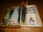 VINTAGE 12 PIECE OZEKI SAKE SET NEW IN BOX MADE IN JAPAN WITH BOTTLE 1960s