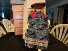 Musical 17 inch Betty Jane Carter Porcelain Doll-Lorraine