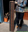 Hand-crafted China Vintage abacus SuanPans. 41 Column 287 Count beads 1936 #126