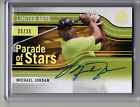 2012 SP Authentic Michael Jordan PARADE OF STARS ON CARD AUTO SP #25 25!!