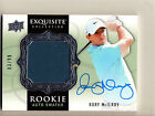 2014 EXQUISITE RORY MCILROY ON CARD AUTO AUTOGRAPH SHIRT PATCH RC SP #3 99!!