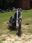 Custom Built Motorcycles : Chopper 1999 custom built harley davidson rigid hard tail 1973 rebuilt engine 1000 cc