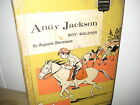 Childhood of famous Americans Andy Jackson boy soldier 1962