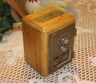 Original Refurbished Post Office Box Door Bank New Cabinet With Brass Coin Slot