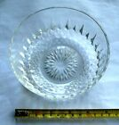 Vintage Signed KIM Crystal Candy Dish/Bowl Made In Indonesia EUC