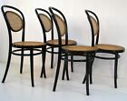 4 MICHAEL THONET DESIGNED A6658 BENTWOOD SIDE CHAIRS