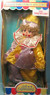 VINTAGE SOFT EXPRESSIONS SPECIAL EDITION PORCELAIN CLOWN DOLL OPEN BLUE EYED