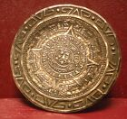 STERLING SILVER MAYAN SUN GOD PIN PENDANT MADE IN MEXICO #0