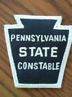 OFFICIAL PENNSYLVANIA STATE CONSTABLE POLICE DEPT. OFFICE INSIGNIA PATCH - NEW