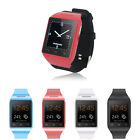 S18 Unlocked 154 Inch Smart Wrist Watch Phone GSM Quad Band touch screen Red
