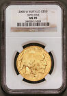 2008-W NGC MS70 1 oz. Buffalo $50 Gold Uncirculated Rare One Year Type Coin