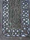 Artitectural Old Art Piece Last CENTURY BRONZE RELIEF Filigree PLAQUE Wall Decor