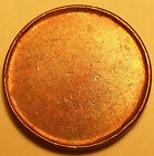 ERROR COIN Blank Planchet Flaw Canada One Cent Penny R104