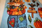 harvest scarecrow self sew wall hanging panel, 43