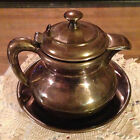 REDUCED Antique Tea Pot Forbes Quadruple silver company