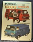 1963 Ford Econoline Van Sales Brochure Folder Trucks Excellent Original 63