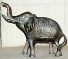 Vintage Brass art deco Figurine Elephant hand forged weight 420 gram #oi838