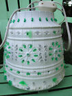 Vtg Lawnware Large Patio Blowmold Plastic Tiki RV Outdoor Hanging Lantern Light
