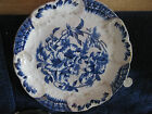 ANTIQUE Flow Blue ORMONDE W&E CORN Porcelain Royale 9