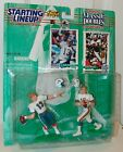 NFL Starting Lineup 1997 Classic Doubles Dan Marino Bob Griese Football Figure