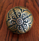 Antique BRANFORD Cast Bronze Door Knob. Circa 1880s