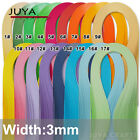 Single Color Quilling Paper 3mm width420mm Length100 strips