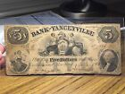 1856 Bank Of Yanceyville North Carolina $5